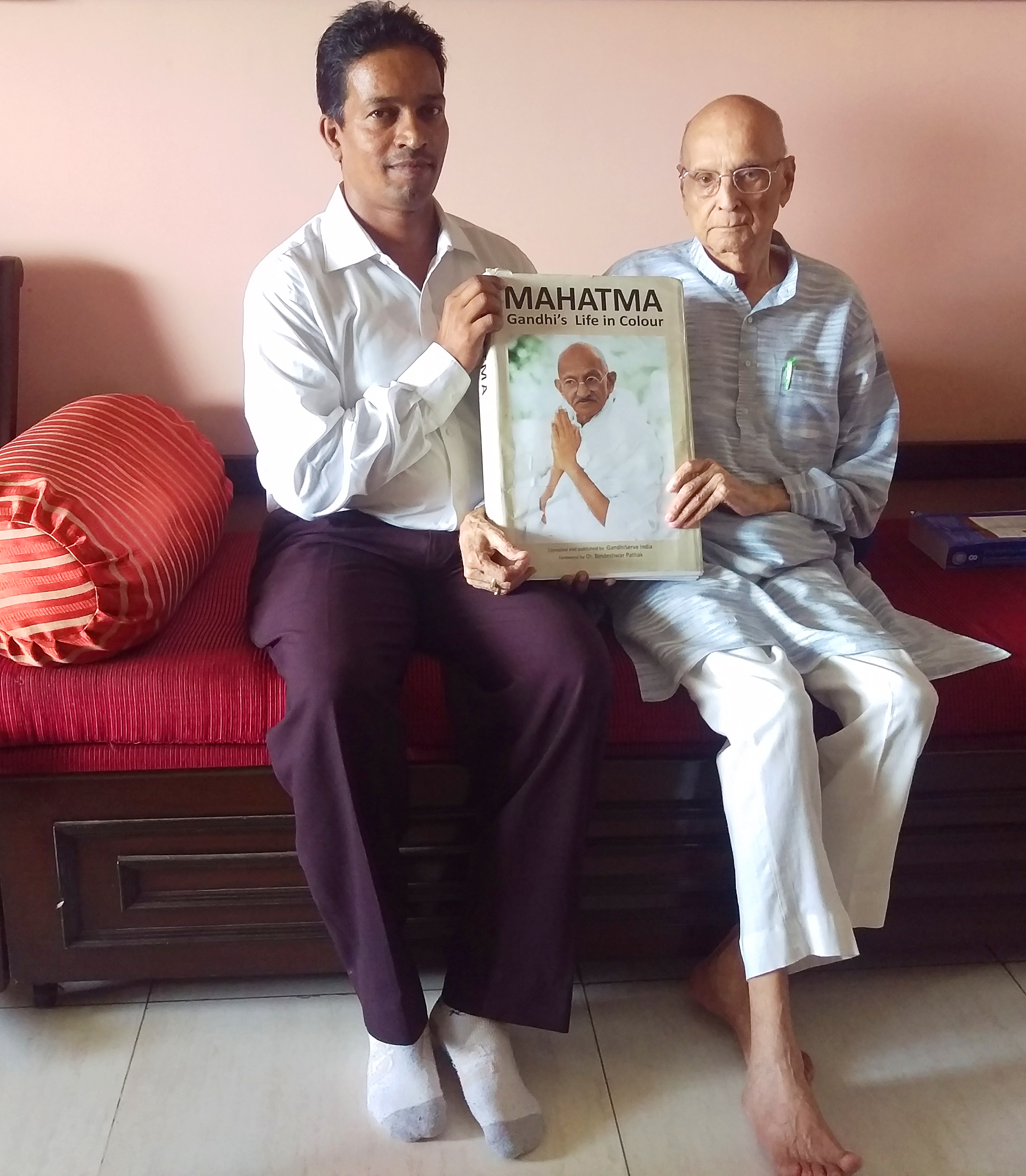 Jayan Mitra and Chandrashekhar Dharmadikari