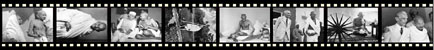 Mahatma Gandhi film strip